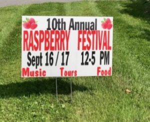 We Love Connecticut! Raspberry Festival in Sherman, CT